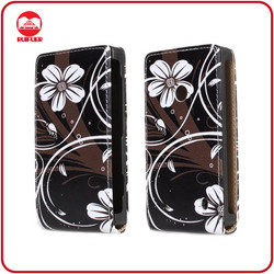 RF Manufacturer Stylish Designer Vertical Magnetic Flip Leather Case Cover for Nokia Lumia 520