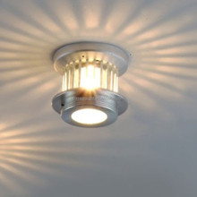 50w aluminium warm white color halogen ceiling light Wall Lamp