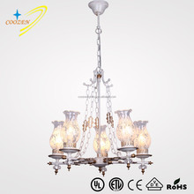 CZ80001-5 metal pendant light hanging lamp factory china russian style chandelier lamp