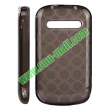 hot selling Circle Pattern Soft TPU Case for Alcatel OT990M