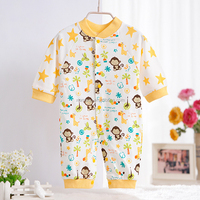 trade assurance free plain cotton baby romper for winter