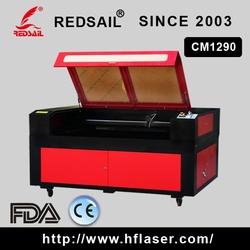 2015 high professional machine ! Redsail easy operation laser engraving cutting machine CM1290