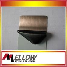 Mellow 201/304 Hairline Brushed No.4 Stainless Steel Inox Decorative Sheet