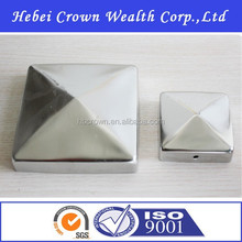 Stainless Steel Fence Post Cap,Square Type
