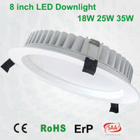 Europe best-selling high lumen ultra slim 6inch 8inch dali dimmable LED down light with 5630SMD