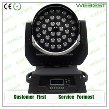 Wedding decorations 36pcs 10w RGBW 4in1 led wash moving head zoom