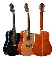 New arrival 12 strings acoustic guitar on sale