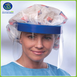 Eco-friendly Disposable Face Mask With Anti Fog Eye Shield