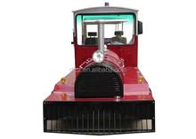 Ce zertifiziert elektrische weglosen touristenzug for sale/dlt626
