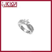 latest design diamond ring from saudi arabia designs Fashion Design Engagement Ring,925 silver ring Unisex