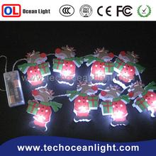 2015 Christmas battery operated christmas light chain Christmas EIK string light festival decoration light