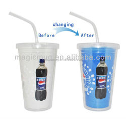 2015 Hot New Products Double Wall Kids Plastic Cup, PP Plastic Cup