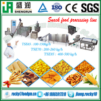 cereal puffed snacks foods production extruder