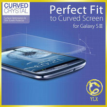 Manufacturer anti-broken screen protective film tempered glass for samsung galaxy s3 mobile phone accessory