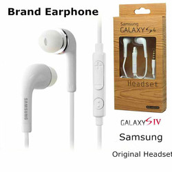 High Quality Earphone 3.5Mm Earphones In Ear Noise Isolating Mic Headphones With Microphone Ear Buds For Samsung Galaxy S2 S3 S4
