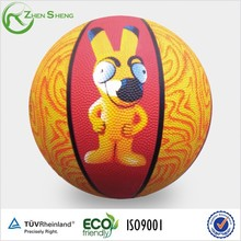 Zhensheng Rubber Ball Happy Child Basketball Baby Toy