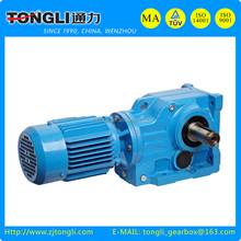 TK series helical-bevel gear Speed reducer
