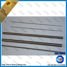 W1 high puity tungsten round bar best price tungsten bar polished bar