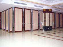 Latest technology acrylic wall partition office reception decoration
