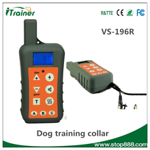 VS-196R Pet Products Sound Shock Pet Training Barking Control Collar for Dogs