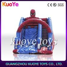 inflatable spiderman slide,hot sale spiderman slide inflatable,inflatable slide china
