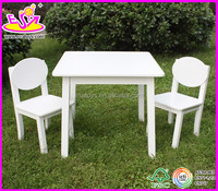 New and popular wooden table and chair,modern children table and chair set toys,wholesale wooden toy table chair W08G037