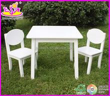 Neue und beliebte holztisch und stuhl, modernen kinder tisch und stuhl gesetzt spielzeug, großhandel holzspielzeug tisch stuhl w08g037