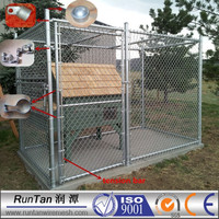 professional customized galvanized cheap chain link dog kennels