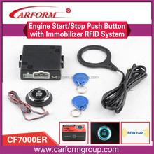 Factory Sale auto smart start stop button system car alarm