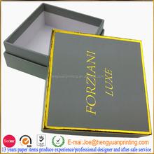 Cufflinks box with custom logo Velvet gift box packing CH657