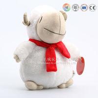 Wholesale mascot soft sheep toy stuffed baby plush toy lamb
