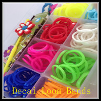 2014 Hottest Fashion Popular Promotion new designs diy silicone loom bands