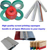 High quality and factory price screen printing squeegee rubber from Shanghai Gold-up/T-shirt silk screen printing process