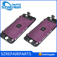 """Cell Phone Parts For apple iphone 5"""" original Lcd with digitizer assembly accept paypal"""