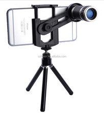 hot sale !! universal phone accessories 8x zoom for smartphone lens