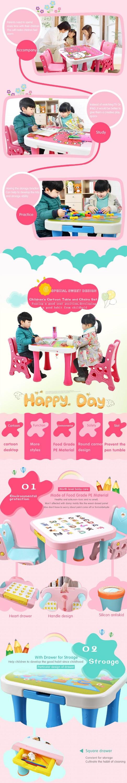 Moda baratos niños bebé Mesa dormitorio Mesa muebles mesa de comedor ...