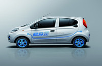 Lithium battery electric car eOne-eQ04 ,42KW PMSM motor