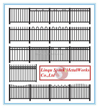 2015 metal picket fence panels with low price