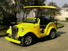 Low nosie electric golf car new energy
