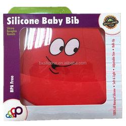 Design unique baby bib silicone manufacturer