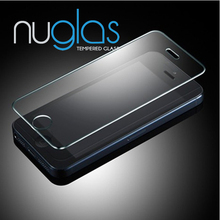 Oleophobic coating clear screen protector,Nuglas premium for iphone 5s screen protector