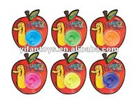 2012 new product Glitter Squirmles,magic worm
