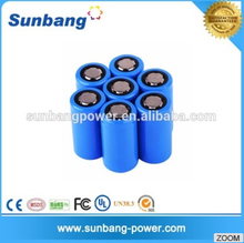 Hot sell 3.7v 5000mah 32600 special size lithium ion car battery