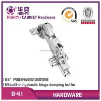 165 degree hydraulic metal cabinet door hinge,furniture buffering hinge