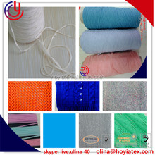 flatting knitting machine 83% Acrylic 17%Nylon knitting yarn Acrylic nylon tape yarn, lily yarn