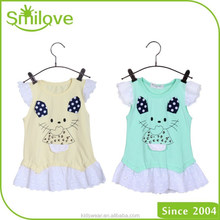 2015 good inviting kids clothes baby girls fashion new t shirt