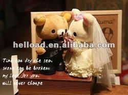 plush lover bear couple of bear for girl and boy