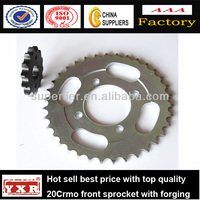 China manufacturer motorcycle spare parts wave125 motorcycle sprocket