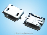 micro usb b type female connector