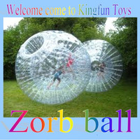 Kids zorb ball ,human sized hamster ball,body zorb